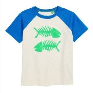 NWT Mini Boden Summer Raglan T-Shirt 5-6Yr